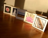 Handmade Cards // Mix 3 // Pack of 5 Photo Cards // Any occasion