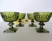 Vintage Indiana Glass Sherbet dishes