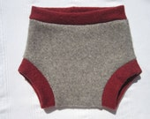 ON SALE - Wool diaper cover- The Cache- Popo - size large