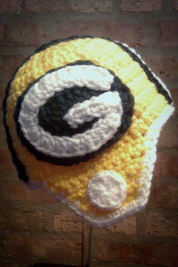 Green Bay Packers Inspired Helmet (Newborn - Toddler Sized) (Made to Order)