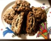 VEGAN Oatmeal Raisin / Fig Cookie in a Cookie