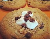 LARGE Vegan S'mores Cookies