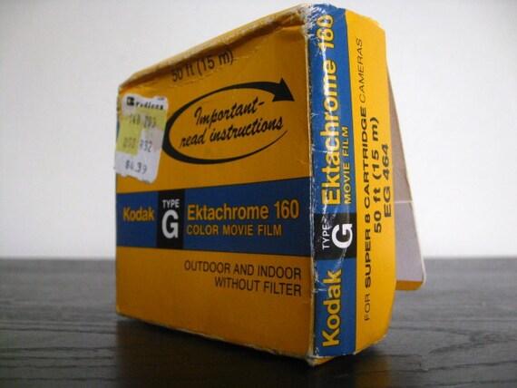 Vintage Expired Kodak Type G Ektachrome 160 Color Movie Film