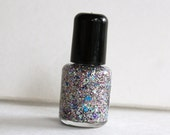 Mini Bottle Multicolor and multishape glitter nail polish Kesha's Floor Sweepings