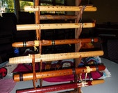 Redwood Native American Flute rack