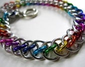 The Spectrum Persian Star Chainmaille Bracelet