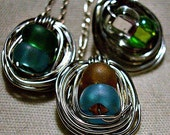 Birthstone Nest Necklace