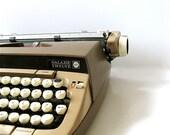1970s Smith Corona Galaxy 12 Typewriter with Case SALE