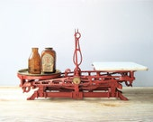 RESERVED  Vintage Cast Iron Scale