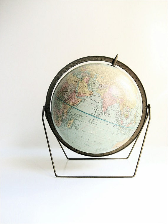 Vintage Crams World Globe