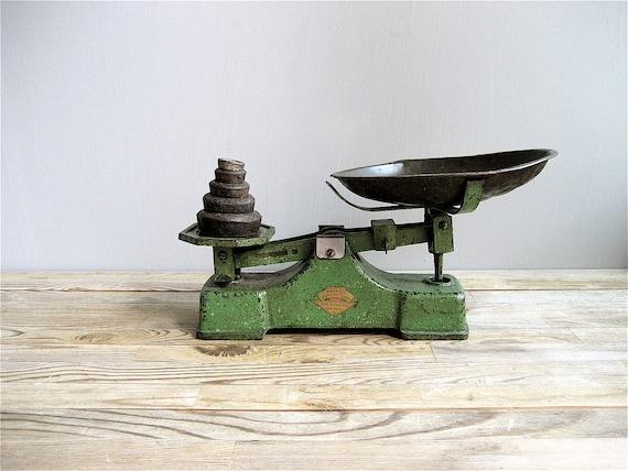 R E  S E R V E D Vintage Cast Iron Scale
