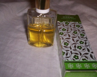 vintage avon perfume sonnet spray purse size