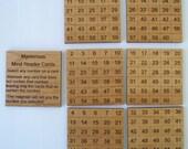 Mysterious Mind Reader magic puzzle Alder cards-  amaze your friends