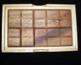 Box of Chocolates - A tasty wood puzzle