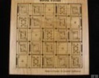 Royal Flush wood puzzle and brain teaser - Alder version