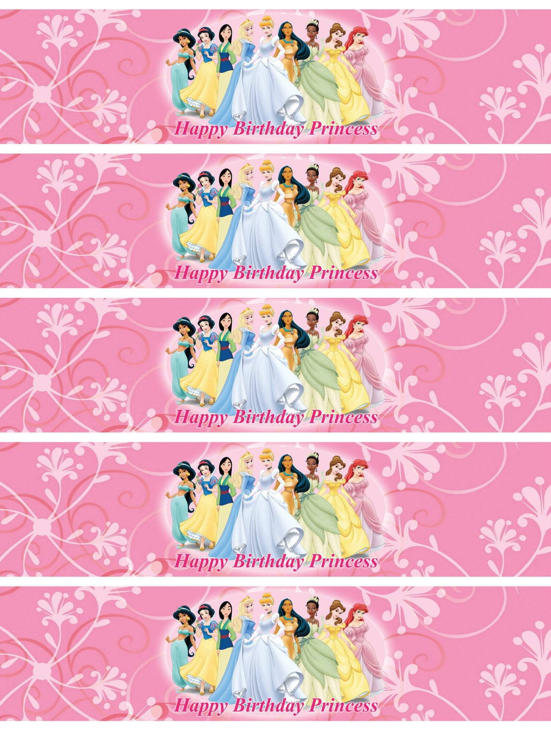 Magic image regarding princess party printable