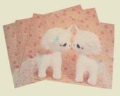 Unicorn Love Postcards Set of 3