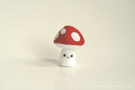 Red Plushroom - Mushroom Plush