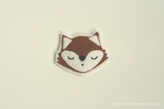 Fox Brooch Pin retro inspired accessory