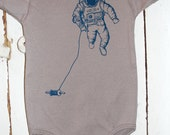 Kitestronaut - Organic Infant Short-Sleeve Onesie