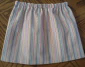 Striped skirt - made to order