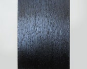 "Textured Abstract Modern Contemporary Painting Black 36"" x 24"""