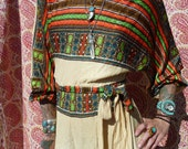 60s Ethnic Psychedelic Gypsy Jumpsuit