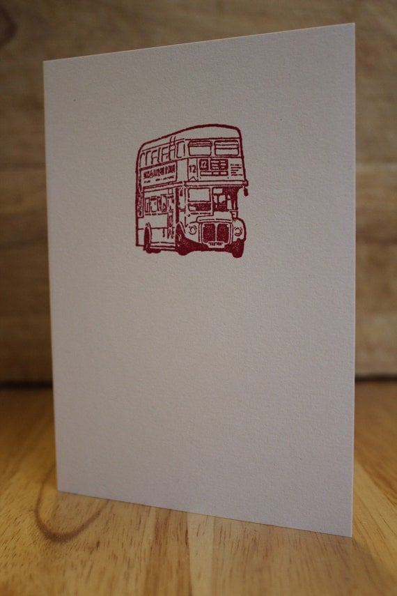 London Routemaster Card