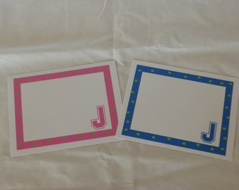 Kids'  Initial Note Cards