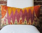 """Navajo - Robert Allen -  Pillow Cover - Lumbar 14"""" x 24"""" - Designer Pillow - Decorative Pillow - Throw Pillow"""