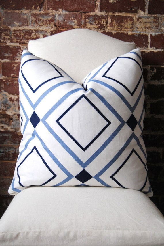 Diamond Lights - Victoria Hagan Home Collection - Pillow Cover - 22 in square - Designer Pillow - Decorative Pillow - Throw Pillow