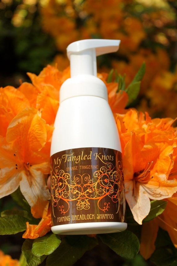 Residue Free Foaming Dreadlock Shampoo Orange-Tangerine