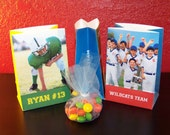 Photo Party Favor Bags - SPORTS