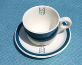 Vintage Iroquois China Hotel Cup and Saucer