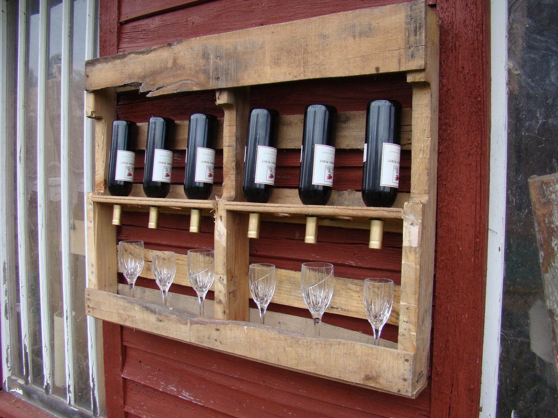 Recycled Wine Rack By Thegoawaywoodshop On Etsy