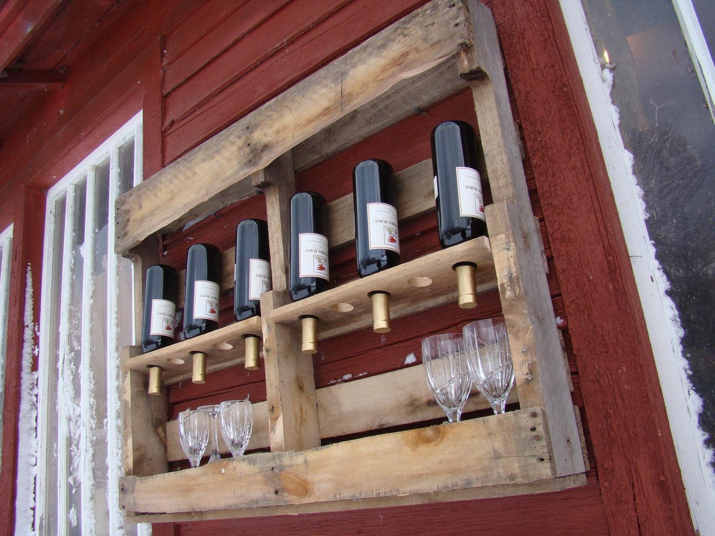 Recycled wine rack - Vinotecas de madera ...