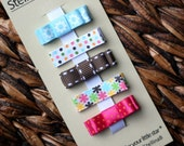 Mini Hair Clips for baby, hair clips for infant, toddler hair clips, tween, teen, adult - 2 SIZES - Photo prop - Baby Hair Clippies