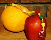 Lampwork Fruit Bracelet