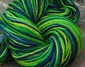 THERESA hand painted superwash merino sock yarn