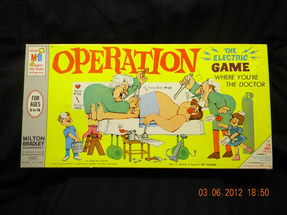 Operation the game MB 1965