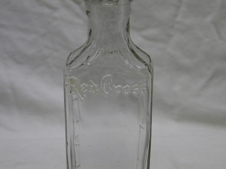 Cougar Life Reviews >> Vintage Medicine Bottle Red Cross bottle collectibles