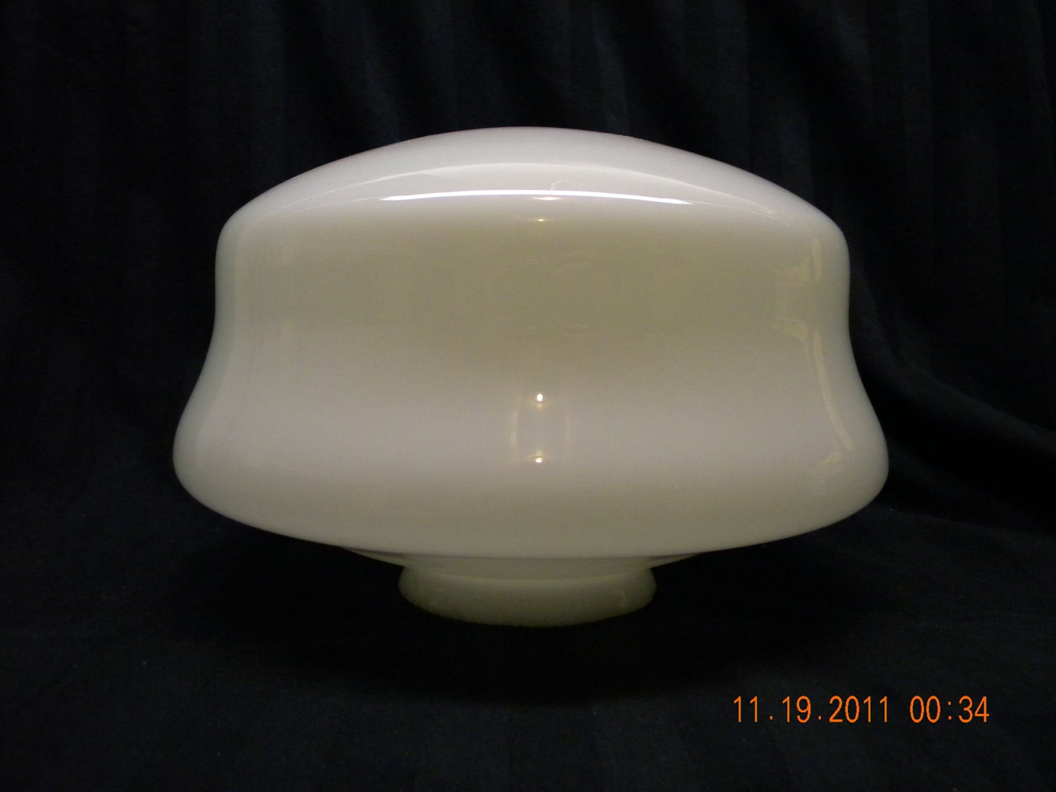 Ceiling Light Cover Only : Vintage lighting cover ceiling globe light by heyjunkman