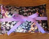 Pillow Silky Lavender Bow