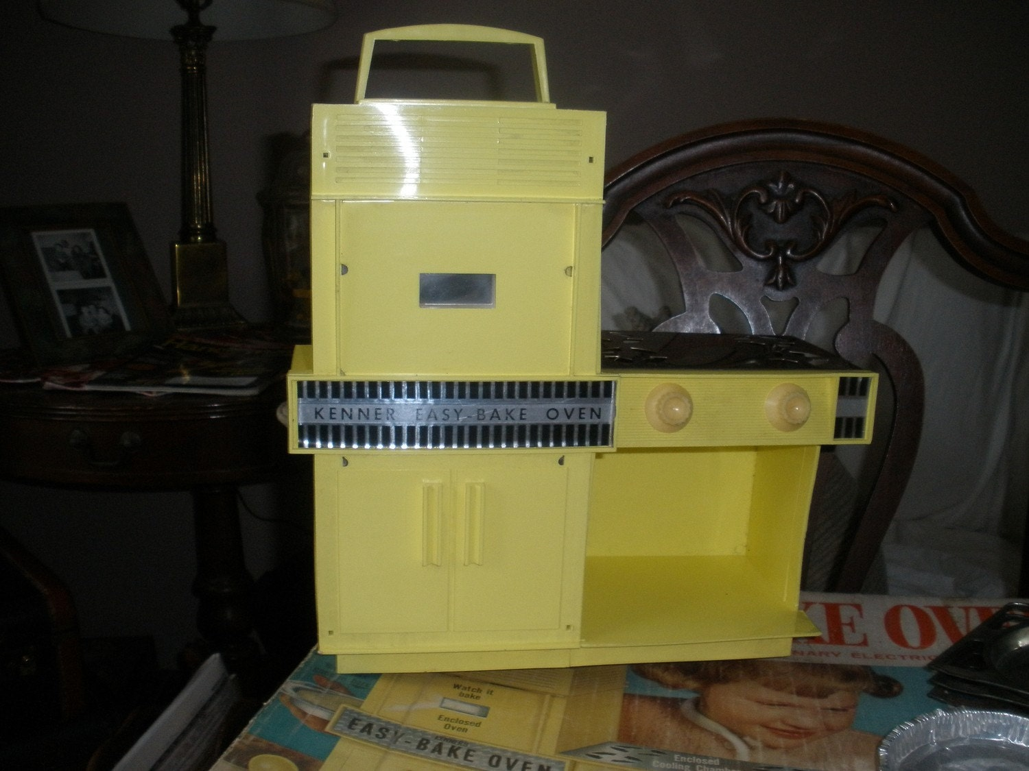 Easy Bake Oven By Kenner 1964 Classic Yellow And By