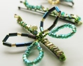 handmade hairpins - something sweet, something cute, something different-- hold for Sarah :)