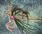 Santa's Little Clockwork Reindeer Ornament