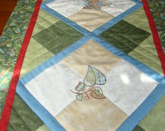 Quilted Table Runner or Wall Hanging