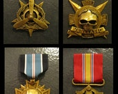 Fantasy Military Medals of Honor - Set of 3 (Your Choice)