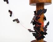 Halloween Paper Garland - Crazy Bats