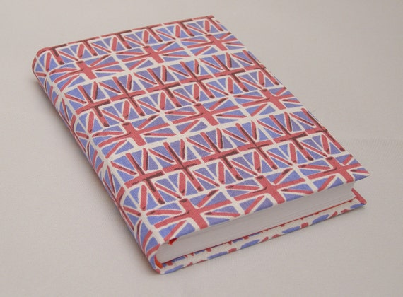 Sale - Small Union Jack handmade notebook
